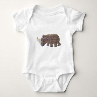 Ronald Rhino Baby Bodysuit