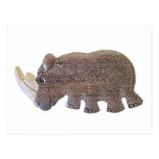 Ronald Rhino Postcard