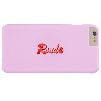 Ronda Full Pink case for iPhone 6 Plus Barely There iPhone 6 Plus Case