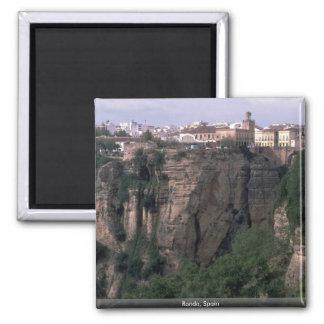 Ronda, Spain Square Magnet