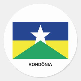 Rondônia, Brazil Flag Sticker