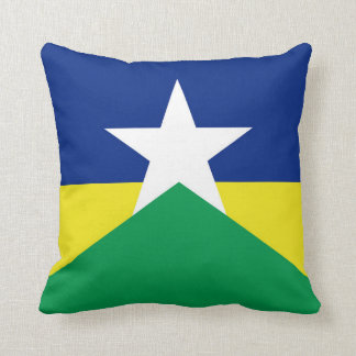Rondonia flag Brazil region province symbol Cushion