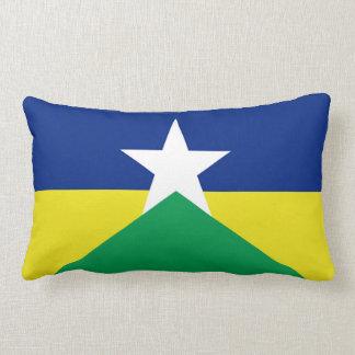 Rondonia flag Brazil region province symbol Lumbar Cushion
