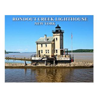 Rondout Creek Lighthouse, New York Postcard