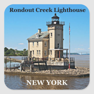 Rondout Creek Lighthouse, New York Stickers