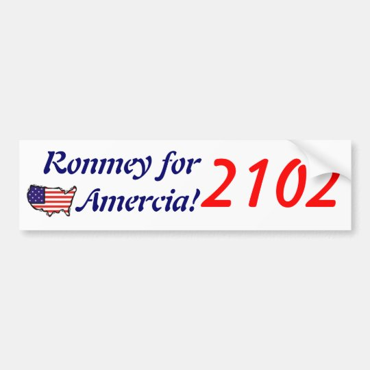 Ronmey 2102 Bumper Sticker