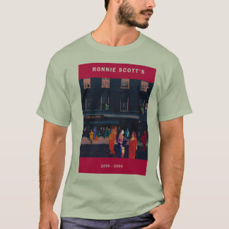 RONNIE SCOTT'S 50th ANNIVERSARY MEN'S T-SHIRT