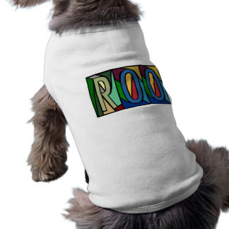 ROO ~ PERSONALIZED BIG LETTERS~ PET-WARE FOR DOGS! PET CLOTHES