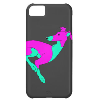 Roo Sitting BLUE PINK iPhone 5C Cover