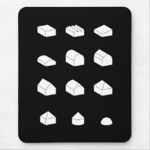 Roof Forms 3D Mousepad