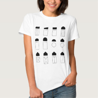 Roof Forms T-Shirt