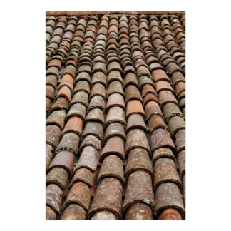 Roof tiles posters