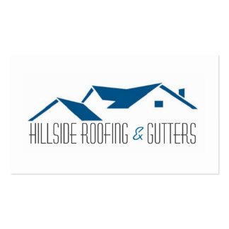 Roofing, Gutters, Construction Business Card