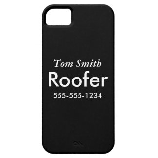 Roofing iPhone 5 Cover