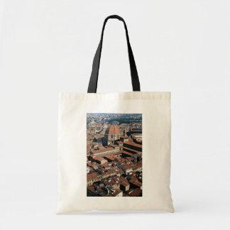 Roofs of Florence, San Lorenzo Dome, Italy Budget Tote Bag
