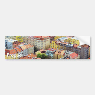 Roofs of Prague bumper sticker