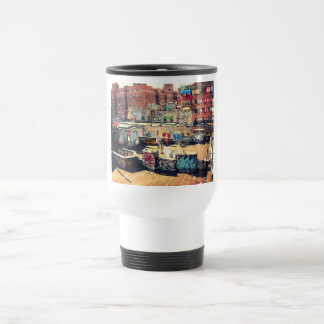 Rooftop Graffiti in Chinatown 15 Oz Stainless Steel Travel Mug