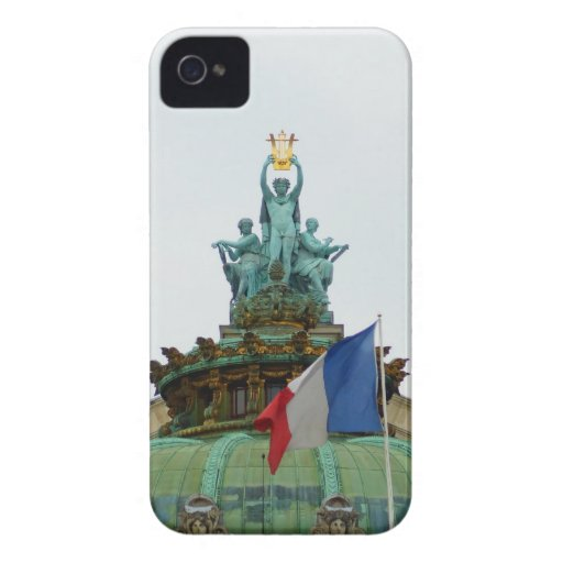 Rooftop of the Opera Garnier in Paris, France Case-Mate iPhone 4 Cases
