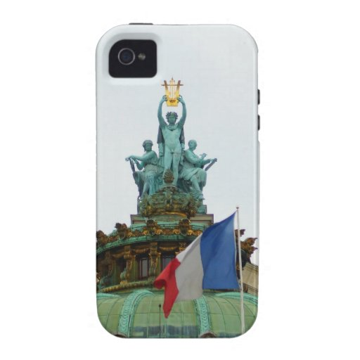 Rooftop of the Opera Garnier in Paris, France Vibe iPhone 4 Case