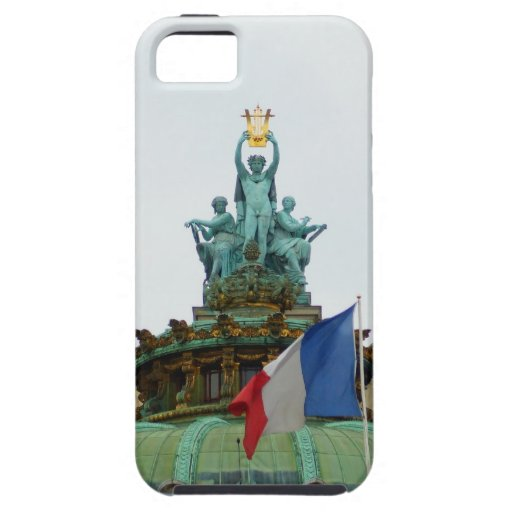 Rooftop of the Opera Garnier in Paris, France iPhone 5 Cover