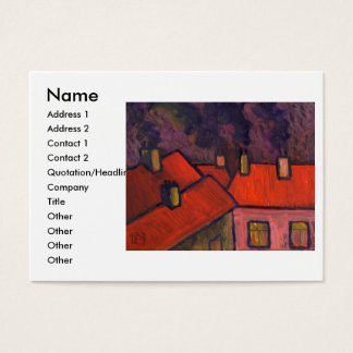 ROOFTOPS BUSINESS CARD