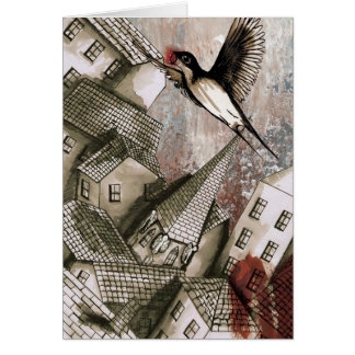 Rooftops (The Happy Prince) Greeting Card