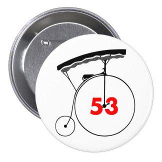 Rook 53 7.5 cm round badge
