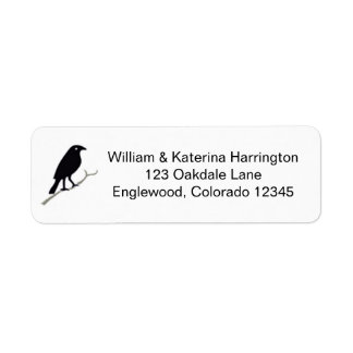 Rook and Holly Custom Avery Return Adress Labels