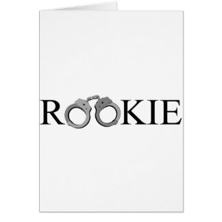 Rookie Greeting Card