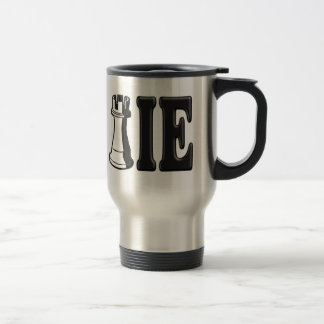ROOKIE (Rook Chess Piece + ie) Stainless Steel Travel Mug