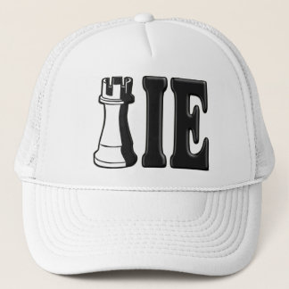 ROOKIE (Rook Chess Piece + ie) Trucker Hat