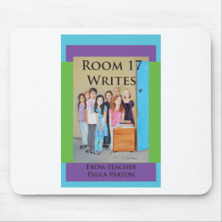 room 17 writes cover mouse pad