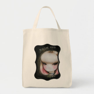 Room 663 grocery tote bag
