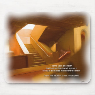 Room and Stairs Mouse Pad
