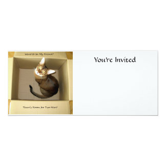 Room for Two 10 Cm X 24 Cm Invitation Card