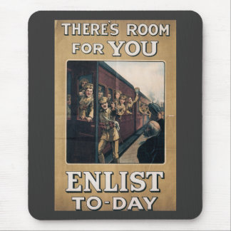 Room For You World War 2 Mouse Pad