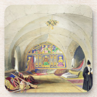 Room in an Armenian Convent, in Jerusalem (colour Coasters