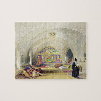 Room in an Armenian Convent, in Jerusalem (colour Jigsaw Puzzle