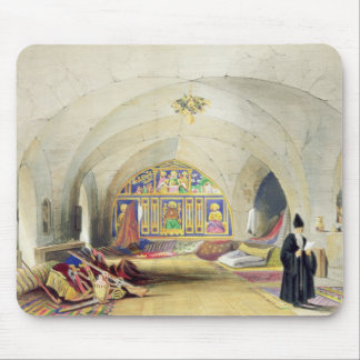 Room in an Armenian Convent, in Jerusalem (colour Mouse Mat
