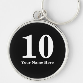 Room number keychains for hospitality business