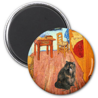 Room - Persian Calico cat Magnets