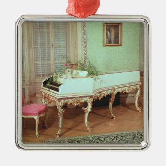 Room with the harpsichord christmas ornament
