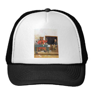 Roosevelt Bear as a Substitute Teacher Cap