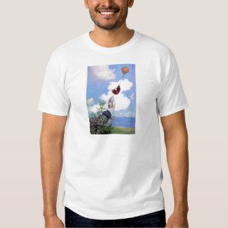 Roosevelt Bears Descend from Hot Air Ballon T Shirt