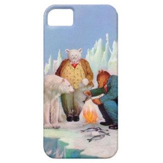 Roosevelt Bears Go Fishing In Alaska iPhone 5 Covers