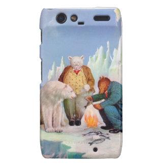 Roosevelt Bears Go Fishing In Alaska Motorola Droid RAZR Covers