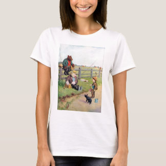 Roosevelt Bears Gone Fishing Down on the Farm! T-Shirt