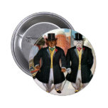 Roosevelt Bears On the Town In New York Buttons