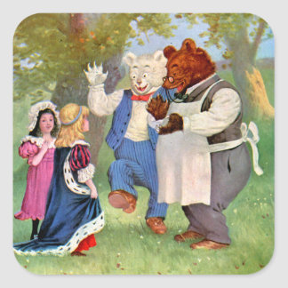 Roosevelt Bears With The Fairy Tale Princesses Sticker