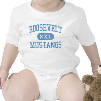 Roosevelt - Mustangs - High School - Dallas Texas Shirts